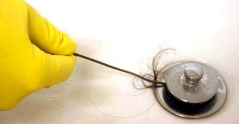 consejos de como desatascar la ducha de pelos