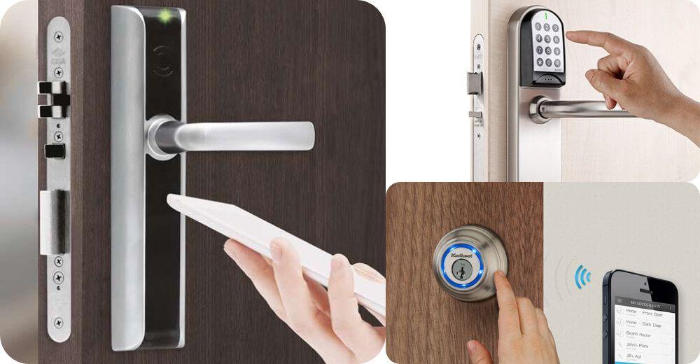 las cerraduras electronicas se pueden usar con moviles